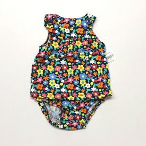 Carter's Baby Toddler Girl's Floral Sunsuit